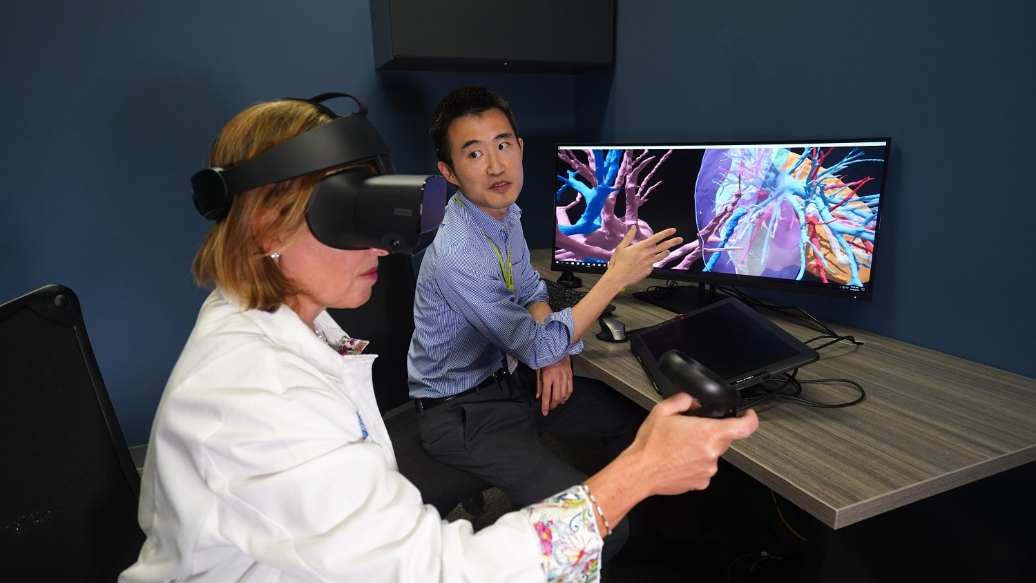 Donations Put Cutting-Edge 3D Models in Surgeon's Hands
