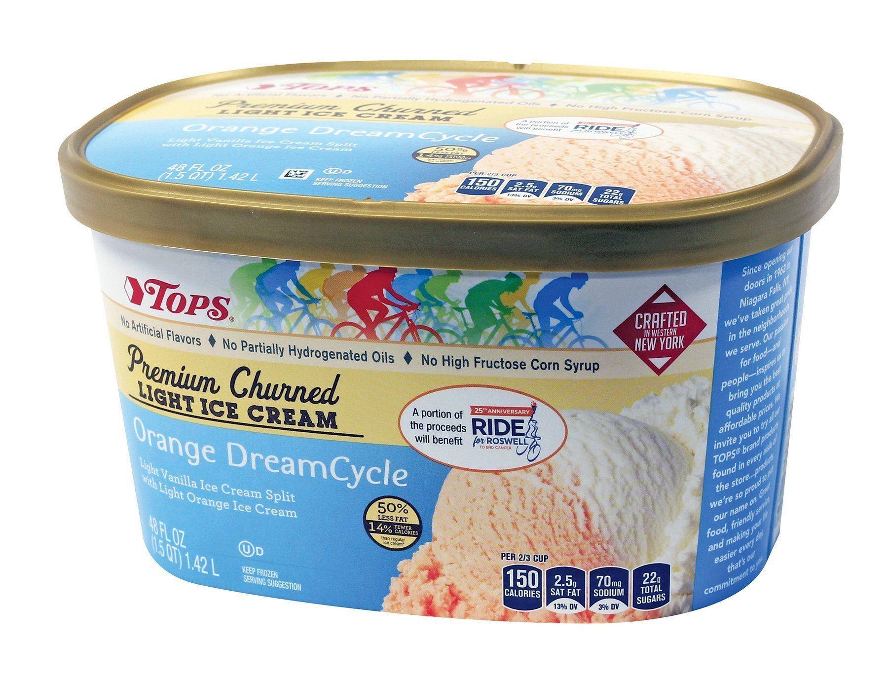 Introducing Orange DreamCycle – the Ride's 25th Anniversary Ice Cream