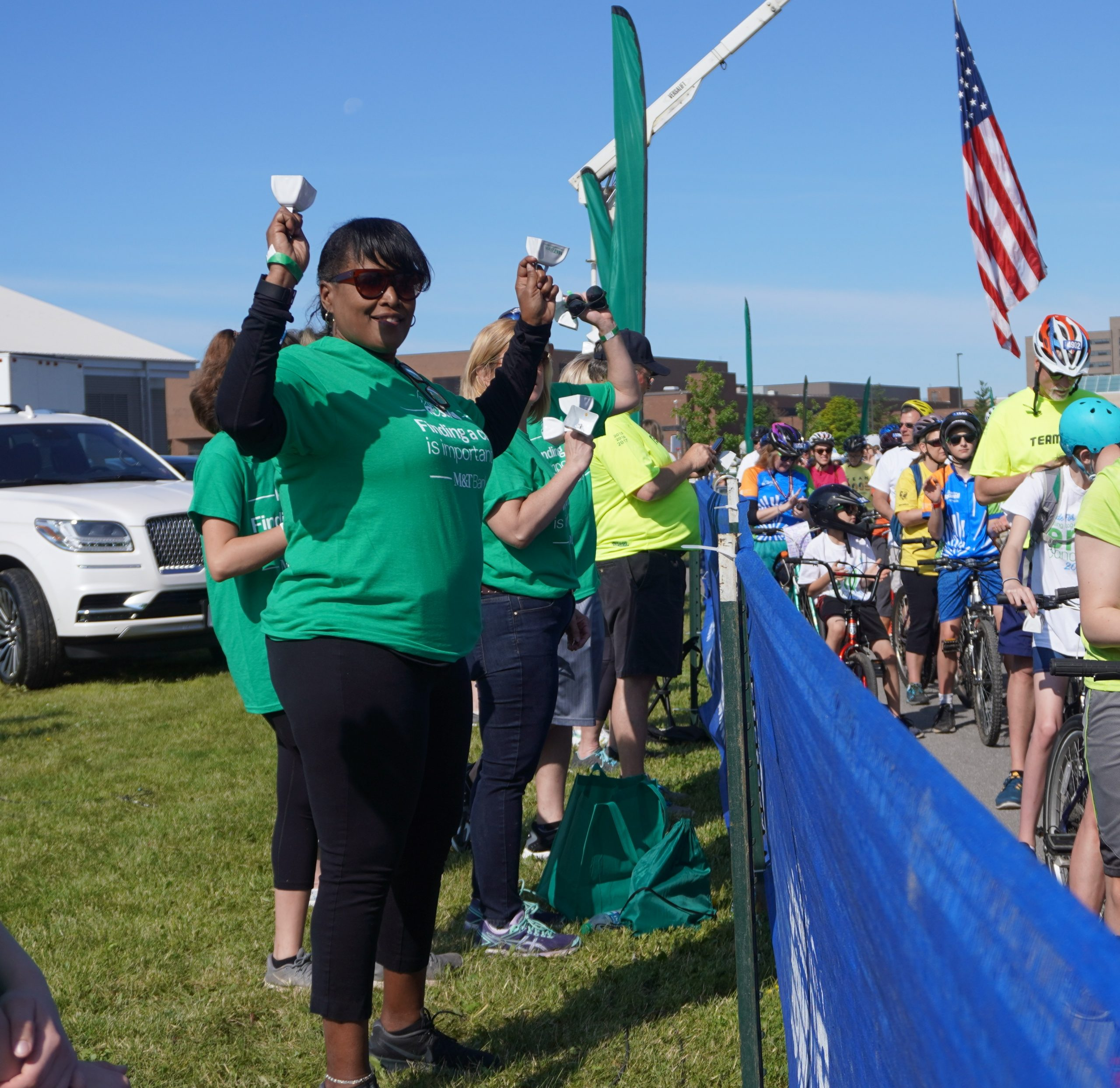 More Cowbell: M&T Bank's Iconic Support for the Ride for Roswell