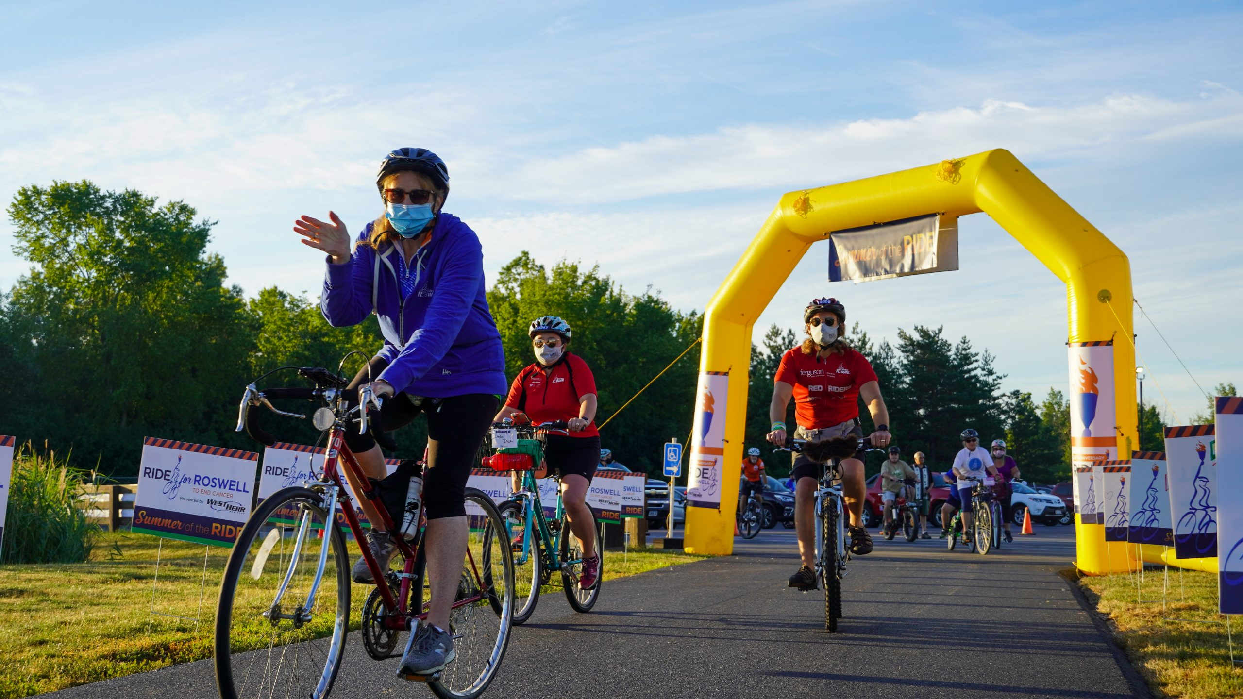 Ride for Roswell 2021 taking place on August 7